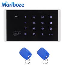 Brandnew K16 Wireless RFID Card Touch Keypad for 8218G G18 Alarm Systems Home Burgalar Security Wireless Password Keypad