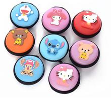 (10 Pcs/Lot) Kawaii Hello Kitty Silicone Multifunctional Travel Small Zipper Storage Bag 15 Cartoon Option(China)