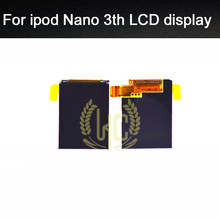 5pcs/lot free shipping brand new internal inner LCD display screen repair replacement for ipod nano 3th gen 4gb 8gb