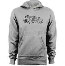 BULLETS FOR MY VALENTINE Band logo Mens & Womens Graphic Printed Hoodies(China)