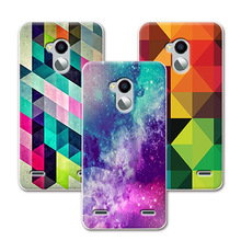 Grid Painted Soft Silicone ZTE Blade V7 Lite Case Cover Fundas + Free Pen - Lisa Phone Store store