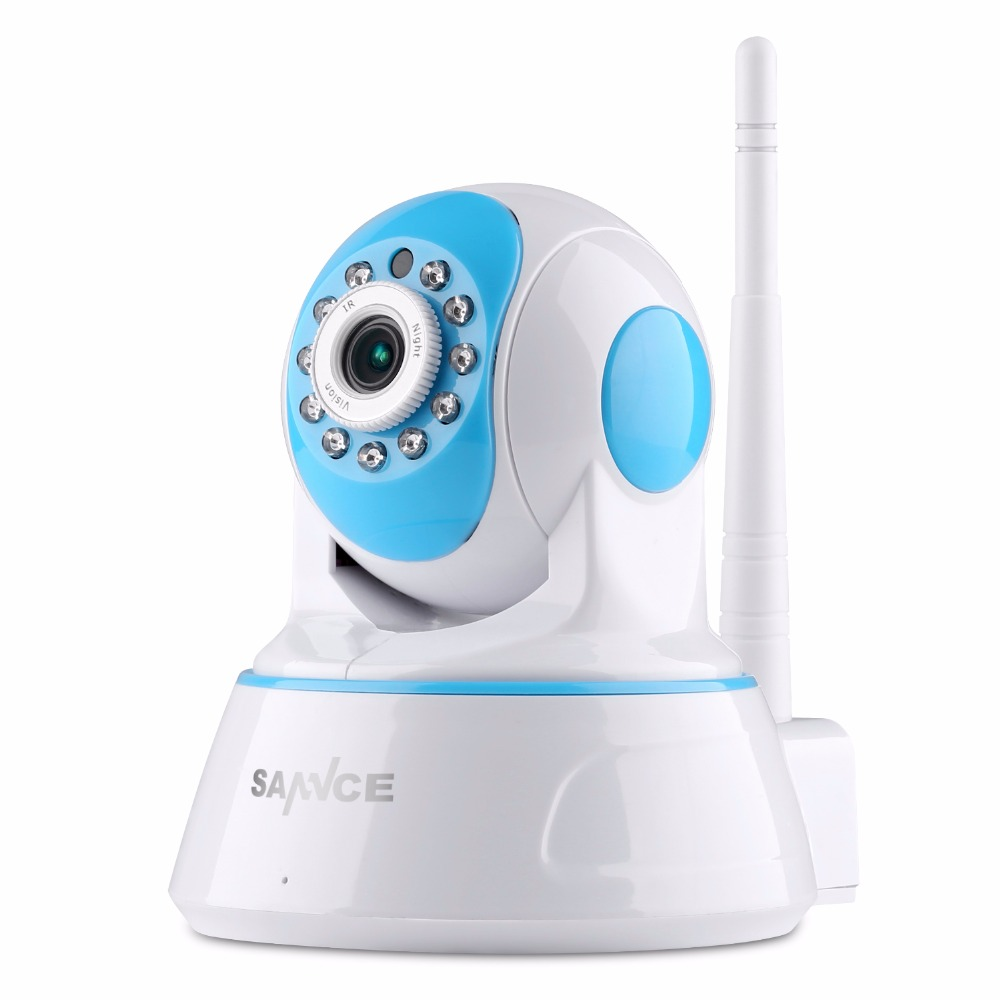 SANNCE 1080P Wireless IP Camera Smart Wifi IR-Cut Night Vision Surveillance Camera Network Baby Monitor CCTV Security Camera<br>