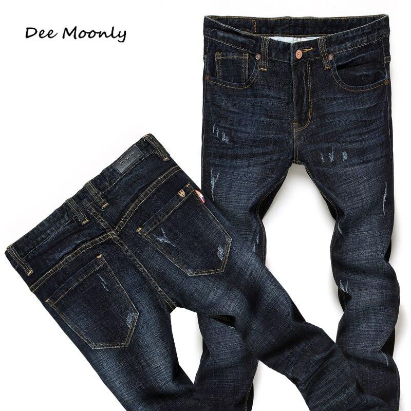DEE MOONLY Hot Sale 2016 New Arrival Fashion Casual Slim Straight Designer Denim Jeans Men,Retail &amp; Wholesale Men JeansОдежда и ак�е��уары<br><br><br>Aliexpress