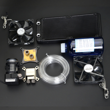 Syscooling new water block kit for CPU GPU water cooling clock
