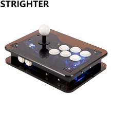 Transparent Arcade Joystick Pc Controller Computer Game Joystick Usb Connector New King of Fighters Joystick Consoles