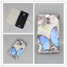 11 species pattern Ultra thin butterfly Flower Flag vintage Flip Cover For Alcatel One Touch Pop Star 3G 5022X 5022D 5022 Case