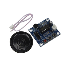 Free Shipping ISD1820 Voice Recording Recorder Module With Mic Sound Audio Loudspeaker