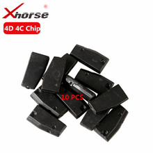 XHORSE 4D 4C Copy Chip for VVDI Key Tool 4D 4C Chip Transponder 10 PCS / Lot(China)
