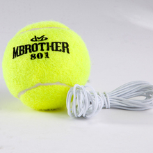 YONO Yellow Tennis Balls With Elastic Rubber Rope Beginners Trainer Outdoor Sports Wholesale