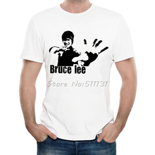 Newest 2017 Summer Fashion Bruce Lee Design T Shirt Summer Men's High Quality Hipster Cool Tee Tops Homme(China)