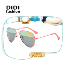 DIDI New Pilot Children Polarized Sunglasses Kids Memory coating Cool Cute Glasses Boys Girls Goggle Eyewear Oculos De Sol C547