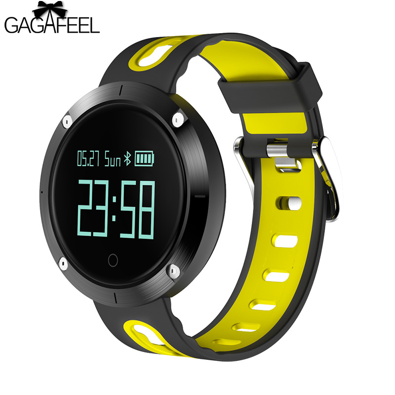 3D Accelerometer Gyroscope Monitor Smart Bracelet for iPhone Android Heart Rate Monitor Sport Smart Watches Clock<br>