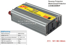 600W Power Inverter 12V DC to 220V AC Converter AC Adapter Power Supply Frequency Inverter Wholesale Dropshipping