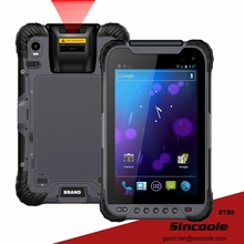 8 inch Barcode Fingerprint RFID 2G+32G Rugged Tablet PC(China)