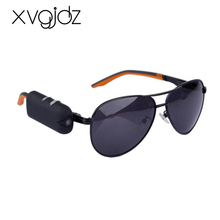 Xvgidz High sell Digital Audio Video Mini Camera DVR Sunglasses Sport Camcorder Recorder For Driving Outdoor sun glasses camera