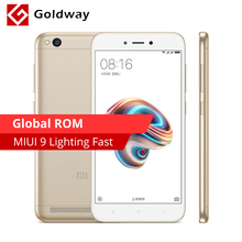 "Global ROM Original Xiaomi Redmi 5A 5 A Mobile Phone 2GB RAM 16GB ROM Snapdragon 425 Quad Core 3000mAh 5.0"" 13.0MP Camera MIUI 9(Hong Kong,China)"