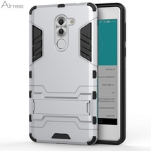 Airress TPU/PC 2in1 Armor Rugged Military Grade Phone Case Cover for Huawei Honor 6x (2016)