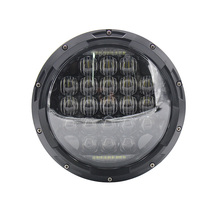 7inch 5D LED Headlight 126W Round H4 Headlamp For Jeep Wrangler Hummer Harley Motorcycle ( Pcs)