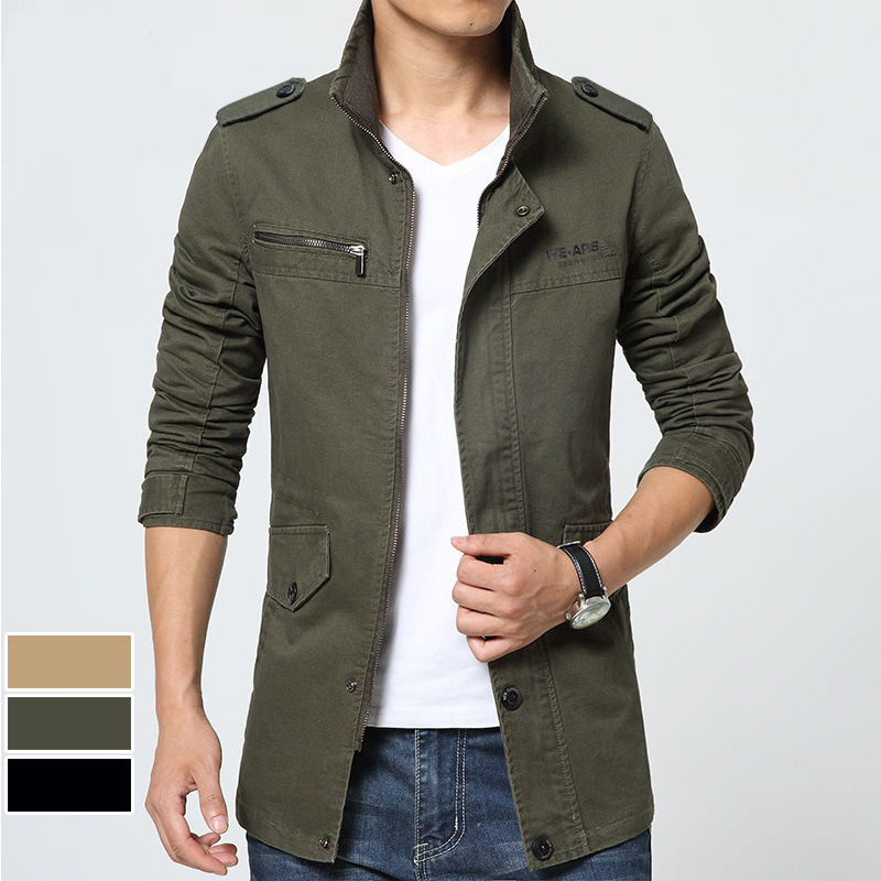 Men's Jacket Casual Jacket Slim Jacket Autumn Windbreaker