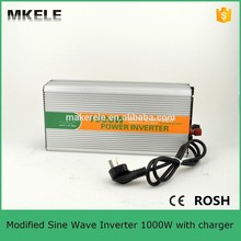 MKM1000-122G-C 1000w power inverter with battery charger,electric power inverter 1000w 12v 220v inverter for sale(China)