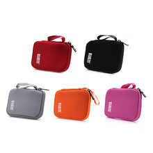 BUBM Organizer Bag for cables Hard Drive Storage USB Flash Drives 2.5inch Hard driveTravel Case digital accessories storage box