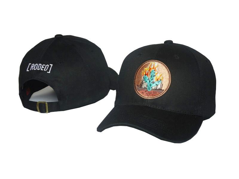 Travis Scotts Fashion Dad Hat Men Women Brand RODEO Baseball Cap Festival Hip Hop Black Flame Cactus Hot Style Snapback Caps<br><br>Aliexpress