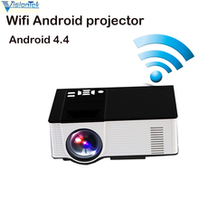 VisionTek VS319 LED Portable Projector1.2-5M Audio 480*800 Pixels HDMI USB Mini Projector Home Media Player Android wifi