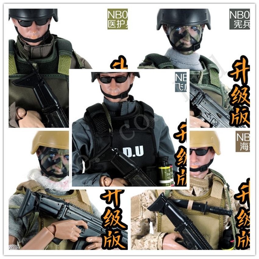 Special Forces Navy Seals MP Wounded Soldier 12 New Box Complete Figure Toy<br><br>Aliexpress