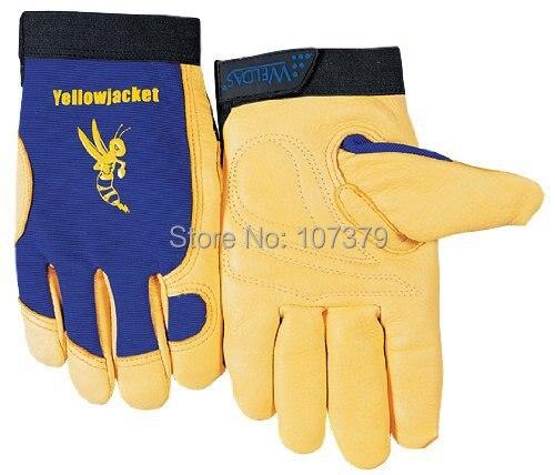 Leather Work Glove Top Grain Deerskin Safety Glove Mechanics Leather Driver Gloves<br><br>Aliexpress