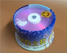Wholesale 10 discs A+ Big Bananas 16x 4.7 GB Blank Pink Flourescent Version Printed DVD+R