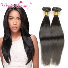 Queen Beauty Weave Co.Ltd Cheap Brazilian Virgin Hair Shiny Straight 4pcs Highlighted Brazilian Hair Best Brazilian Hair Vendors