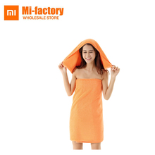 Original Xiaomi ZSH Bath Facecloth Cotton Young Beach Towel Washcloth Absorption Water Antibacterial Soft - Mi-factory Store store