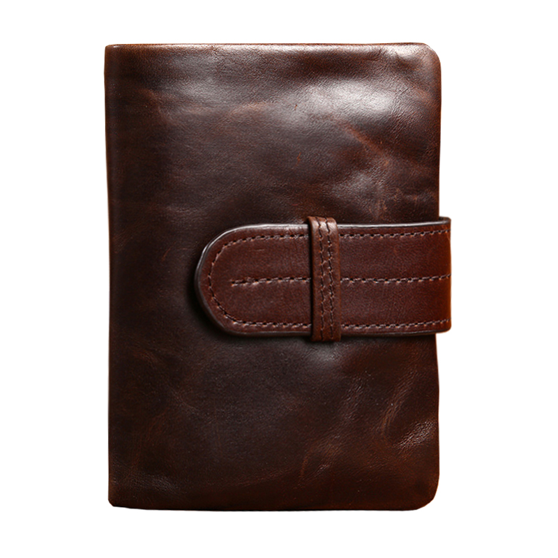 Men Wallets Famous Brand 100% Cowhide Genuine Leather Wallet Men Card Holder With Coin Pocket Short Vintage Design Wallet Purse(China (Mainland))