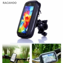 RACAHOO For iPhone 7 Waterproof Bike Bicycle moto Phone Holder Phone Stand Support for iPhone 7plus 6 6s Samsung S6 GPS Holder