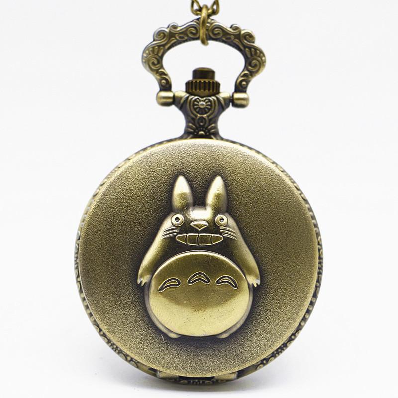 New-Antique-Black-Japanese-Anime-Totoro-Quartz-Pocket-Watch-Necklace-Pendant-Christmas-Gift-Clock (4)