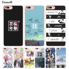 Desxz BTS Bangtan young forever cell phone Cover case for iphone 6 4 4s 5 5s SE 5c 6 6s 7 8 X plus(China)