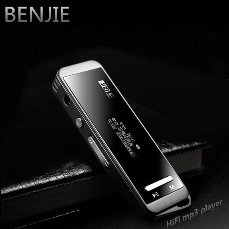 Mini portable BENJIE N9000 real 8GB lossless HiFi sport MP3 Music player High sound quality All-alloy MP3 one-key voice recorder<br><br>Aliexpress
