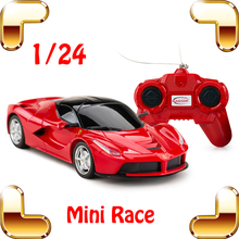 New Year Gift E.L 1/24 RC Racing Mini Car Radio Electric Control Drift Tiny Move Vehicle Race Small Toy For Kids