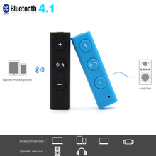 Wireless Bluetooth Car Music 3.5mm Streaming A2DP Wireless Auto AUX Audio Adapter With Mic For Headphone Reciever Jack Handsfree(China)
