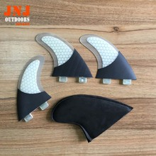 Free shipping FCS G5 carbon fins fiberglass honeycomb for surfing FCS M fins