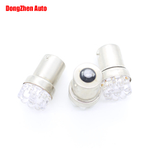 1X 12V Car Moto 1156 BA15S 9 LED P21W R5W Turn Signal Tail Brake Light Auto S25 Reverse Fog DRL Stop Bulb Lamp Xenon Car-Styling