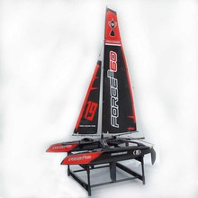 8806 large double belt with 2.4G racing sailboat model