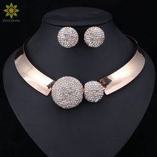 Dubai Bridal Jewelry Sets For Women Wedding African Beads Indian Nigerian Beads Fashion Luxury Trendy Vintage Costume(China)