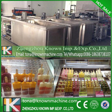 OEM/ODM supply type 26000pcs/day automatic ice lolly making machine cube price with 8 moulds by sea
