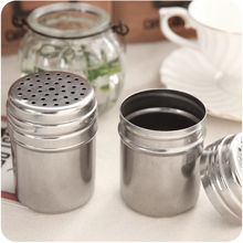 Spice Jar Spice Shaker Herbs Salt Pepper Seasoning Bottle Condiment Container(China)