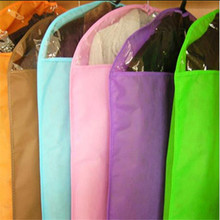 Stenzhorn Wardrobe Storage Bags Transparent Dress Clothes Coat Garment Suit Cover Case Dustproof Covers Zipper Protector 60*85(China)