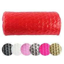 1PCS Nail Art Pillow for Manicure Hand Arm Rest Pillow Cushion PU Leather Holder Soft Manicure Nail Tools Equipment 7 colors