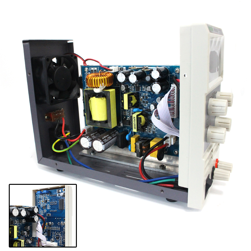 KUAIQU mini DC Power Supply, Switching Power Supply Digital Variable Adjustable Display 0-60V 0-5A PS605D (  ) (  ) (  ) (9)
