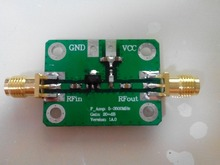 5-3500MHz Low Noise LNA Broadband RF Receiver Amplifier Signal Amplifier Module Gain 20dB