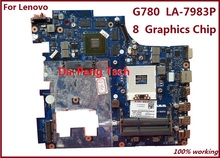 High quanlity Laptop Motherboard For Lenovo G780 8 Graphics chip N13P-GLR-A1 QIWG7 LA-7983P Mother board